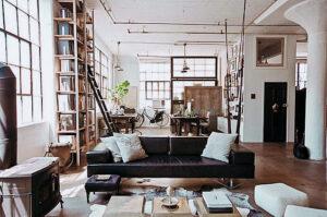 Particularitatile stilului industrial in amenajari interioare