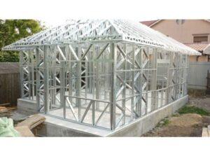 Casele realizate pe structura metalica - avantaje si dezavantaje